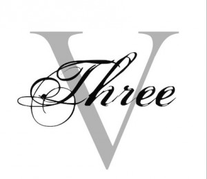 LOGO THREE V HAIR SALON