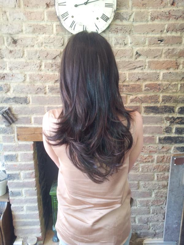 After Monofibre Hair Extensions